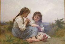 William Adolphe Bouguereau / William Adolphe Bouguereau (French: [wiljɑm buɡ(ə)ˈʁo])