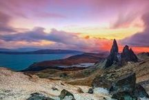 Scotland in colors / Landscape photography from beautiful sites of Scotland benefiting from unusual light from constantly changing weather.