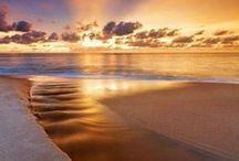 Морская...Берег океана, моря / Захватывающие виды пляжей морей и океанов