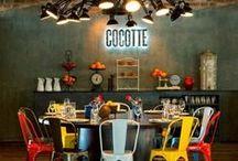 Interior - Restaurant & Cafe / Interior design of Restaurants and cafes