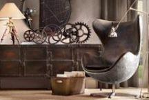 Rustic Industrial Design / by Cindy Jensen