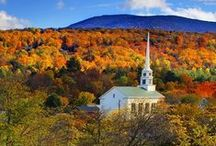 Vermont, USA / Travel the state of Vermont, USA