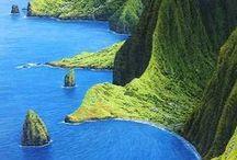 Hawaii, USA / Travel the state of Hawaii, USA