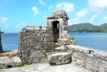 Portabello, Colon, Panama / The vacation destination of Portabello, Panama, on the Caribbean. Province of Colon, Panama.