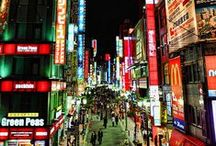 Tokyo, Japan / Exploring the virtues of Tokyo Japan.