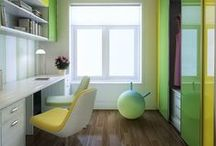 Vibrant Colors in Furnishings
