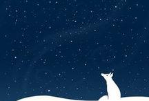 ❄❄❄ Winter ❄ art project ❄❄❄ / zima - arteterapie (kreslení, koláže, obrázky k vybarvení...)