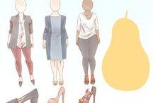 Fordított háromszög vagy körte testalkat / How to Dress if You've Got a Pear Shaped Figure http://www.wikihow.com/Dress-if-You've-Got-a-Pear-Shaped-Figure