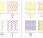 PATTERNS / Fabulous pattern ideas from PIE BOOKS' books.
