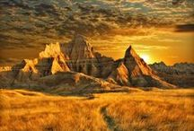 South Dakota, USA / Exploring the wonders of the state of South Dakota.