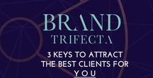 Brand Inspiration #brandtrifecta / My brand inspirations from the Brand Trifecta Challenge at brandtrifecta.com