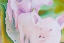 Swine Art / by Lil' Orphan Hammies