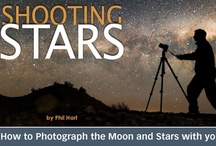 Shooting Stars eBook / Shooting Stars has simple instructions for getting you started using your camera under the stars. The only other piece of equipment you need to get started tonight is a tripod. In addition to simple advice about the camera settings to use for each style of night sky photography, Shooting Stars provides detailed discussion of the finer points of imaging in low light conditions. It's a reference you'll keep coming back to and will help even professional photographers learn more about their camera.