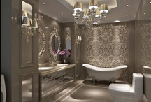 Inspirational Bathrooms / A collection of Bathrooms we admire.