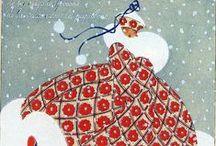 La magie de Noël... ...  / Pour de jolies fêtes de Noël... / by Caroline