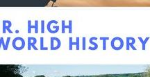 Jr. High World History / World history resources for grades 6 - 8