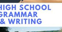 High School Grammar & Writing / Grammar and Writing Resources for grades 9 - 12