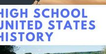 High School United States History / United States History resources for grades 9 - 12