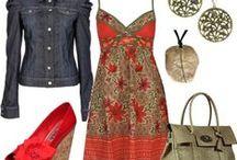Tenue sympa... ...  / Quoi de plus joli quand la tenue est parfaite... ...  / by Caroline