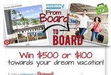 From Board to Board Contest / You could win $500 towards your dream vacation!