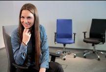 Krzesła i fotele biurowe / Komfortowe, ergonomiczne i designerskie - wybór najlepszych krzeseł i foteli biurowych