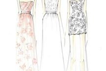 Fashion Sketches / A wide range of fashion sketches that have caught my eye =)