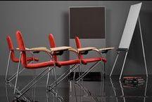 Krzesła z pulpitem / Krzesła z pulpitem do pisania to wygodne rozwiązanie, które sprawdza się przede wszystkim podczas konferencji czy wykładów. Możliwość składania blatu pozwala na dopasowanie mebla do swoich potrzeb, dzięki czemu możemy korzystać z niego zarówno podczas pracy, jak i na co dzień.