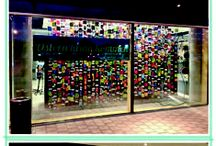shop windows at session / Shop Windows at the session- Stores in Frankfurt am Main and Walldorf-Baden