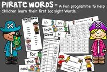 Sight words /  High Frequency and Sight Word ideas and activities for New Entrants and Kindergarten.