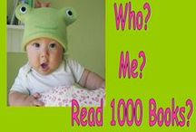 1,000 Books Before Kindergarten! / Suggested books and related activities to share on your way to reading 1,000 books before kindergarten!
