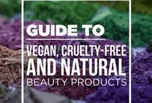 Natural + Vegan Skin Care / Useful information for achieving healthy skin.