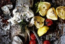 Fish and seafood dishes / A seafood lover's delight