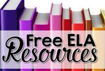 Free ELA Resources - Secondary ELA / This is dedicated board to all free ELA resources for middle and high school teachers. Please pin only free resources/ideas. To be added to this board, please follow the board and email me at TheDaringEnglishTeacher@gmail.com.