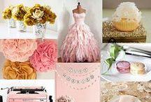 Pink & Gold Details