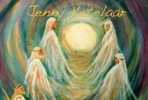 Mijn Spirituele schilderijen en beelden  / Dit zijn schilderijen die ik heb gemaakt en ook beelden.