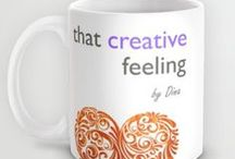 www.thatcreativefeeling.com / A collection of fun merchandise to collect and share you love of all things creative!