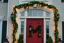 Christmas Porches and Doors