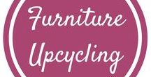 Furniture Upcycling / Upcycling, recycling and reusing old and tatty furniture to give it a new lease of life