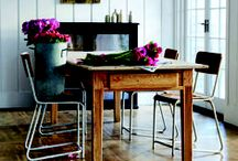 Rustic Florals / Quaint patterns meet rustic charm with this countryside trend. Mix traditional woods with rich colours and textures to get the look in your home. www.amtico.com.