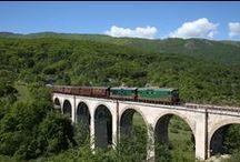Appuntamenti - Events / Salire a bordo di un treno d'epoca e viaggiare lungo le suggestive linee della provincia italiana: un'esperienza che consente la riscoperta di paesaggi e di itinerari inconsueti.