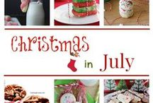 Christmas in July / Seasonal ways to celebrate Christmas in July!  Strawberries, watermelon, the beach...Enjoy looking through many ways to make your CIJ party fun!