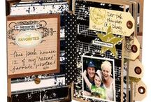 Scrapbooking / Scrapbooking, smash books and project life ideas, inspiration and sources