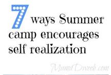 Raising Confident Kids / Tips and articles about the benefits of camp.