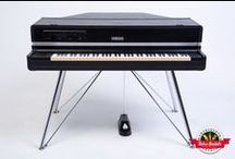 Yamaha CP70 MIDI - Retro Rentals / The incredibly awesome Yamaha CP-70 with incredibly rare factory MIDI and graphic EQ.  It also comes standard with tremolo controls, similar to a Rhodes vibrato effect panning left to right.