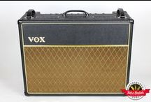 Vox AC30 - Retro Rentals / The Vox AC-30 CC2 was the most popular amplifier model in the Custom Classic Series. Take this all tube amp, then add in the bonus of two 12″ Celestion Blue G12 speakers, and Bob's your uncle it sounds phenomenal.