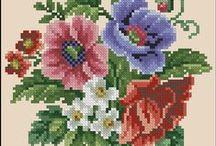 Cross Stich FLOWERS / by Stavroula Epitropaki