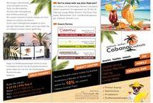 Flyer & Folder / Von uns erstellte Flyer, Folder, Faltblätter, Handzettel, Werbezettel