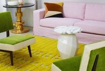 We Love / Our favourite interior accessories, furniture, colours and materials to inspire your interior style