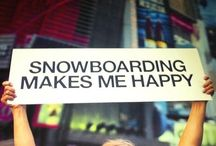 Snowboarding / Life on the white stuff