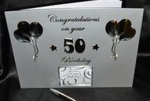 Our Birthday Range / We have birthdays covered!  From party accessories to that perfect keepsake